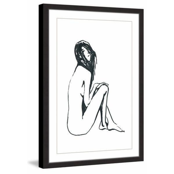 'Simplicity II' Framed Painting Print 30524951