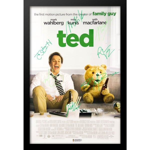 Ted - Signed Movie Poster 30525644