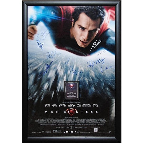 Superman Man of Steel - Signed Movie Poster 30525649
