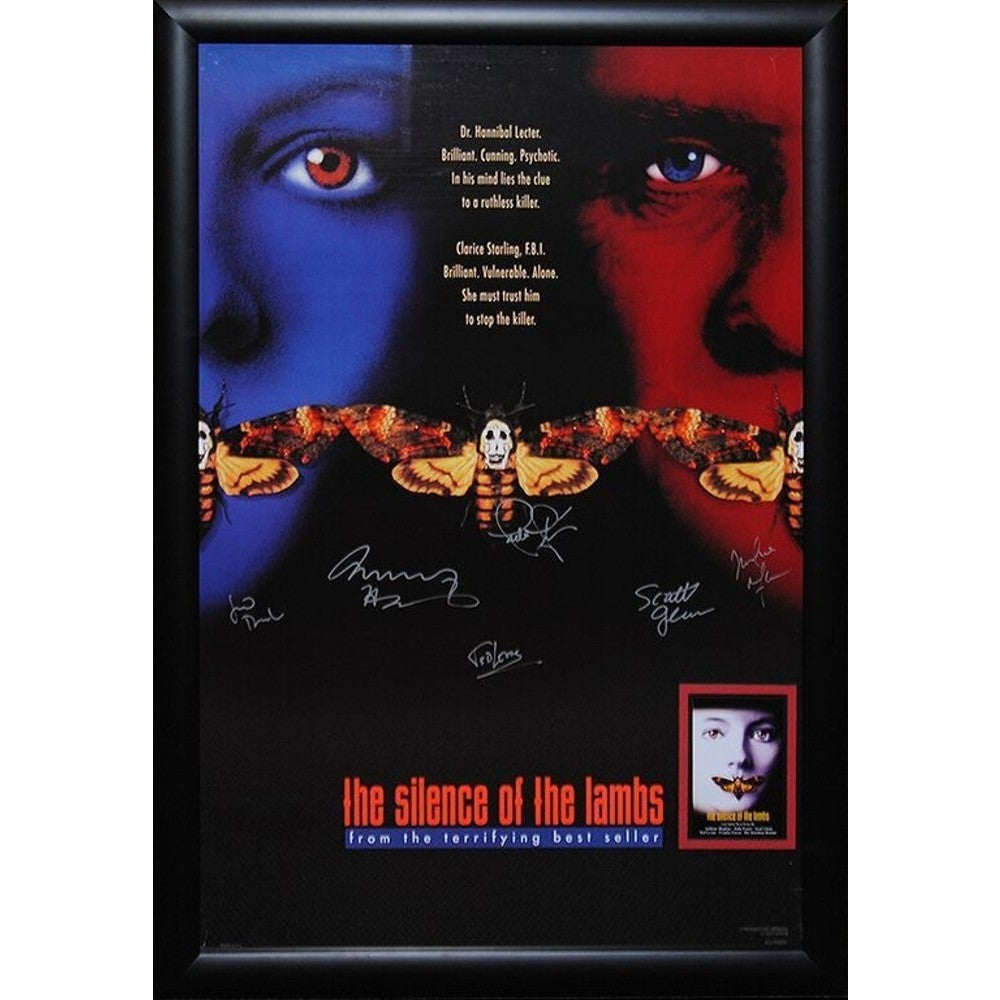 Silence of the lambs movie poster meaning