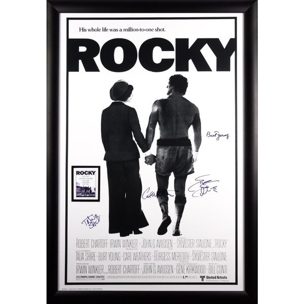Rocky - Signed Movie Poster 30525705
