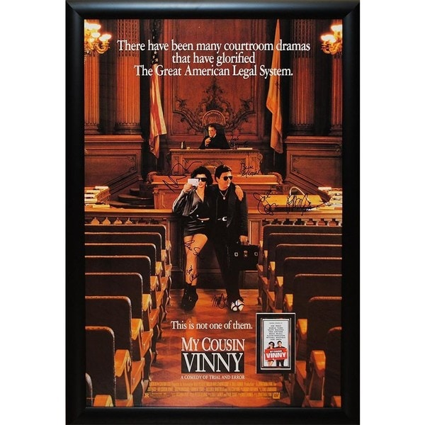 My Cousin Vinny - Signed Movie Poster 30525748