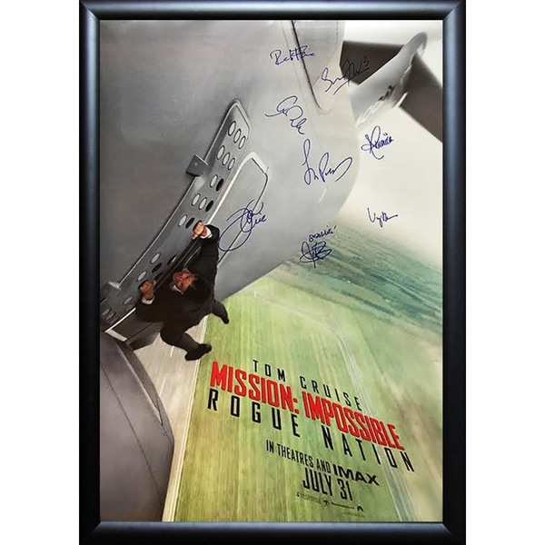 Mission Impossible Rogue Nation - Signed Movie Poster 30525755
