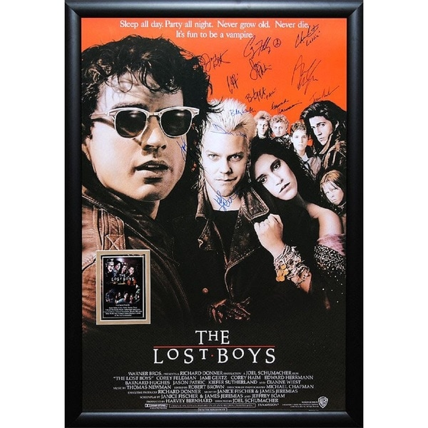Lost Boys  - Signed Movie Poster 30525760