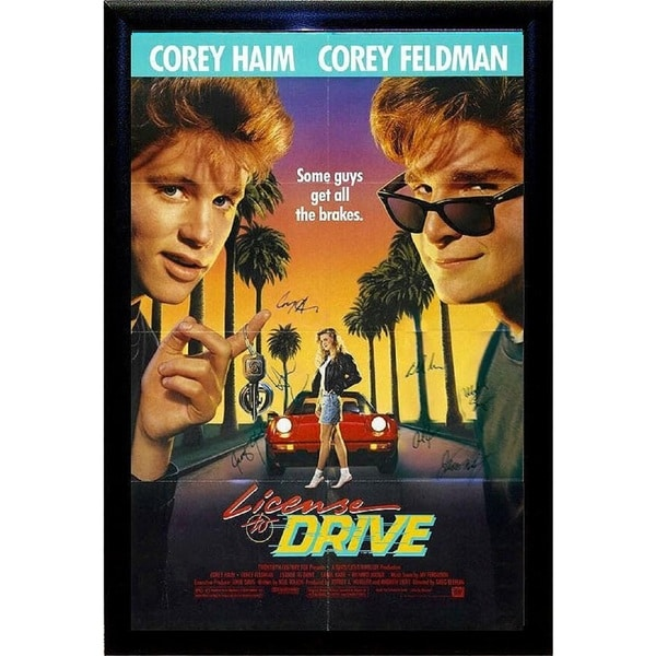 License To Drive  - Signed Movie Poster 30525768