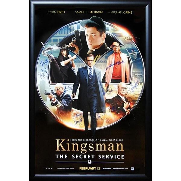 Kingsman The Secret Service - Signed Movie Poster 30525773