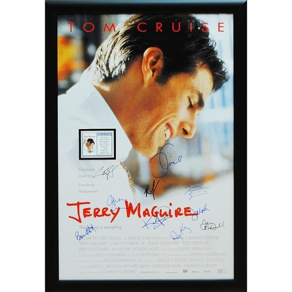Jerry Maguire - Signed Movie Poster 30525800
