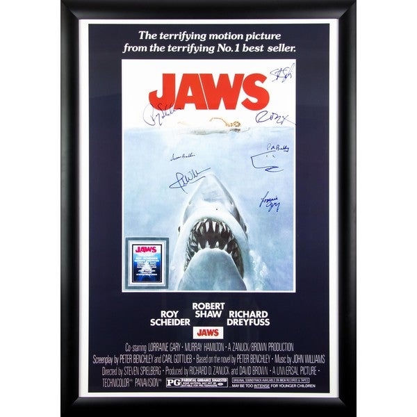 Jaws - Signed Movie Poster 30525801