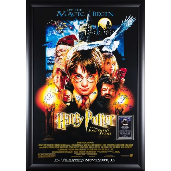 Harry Potter And The Sorcerer's Stone - Signed Movie Poster 30525842