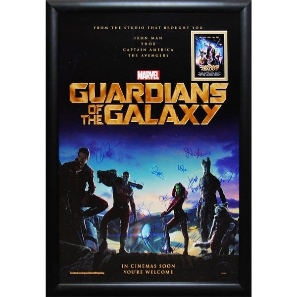 Guardians of the Galaxy - Signed Movie Poster 30525845