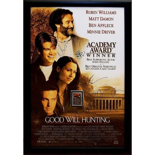 Good Will Hunting - Signed Movie Poster 30525854