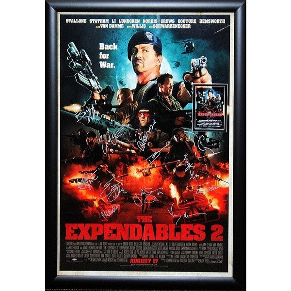 Expendables 2 -  Signed Movie Poster 30525890