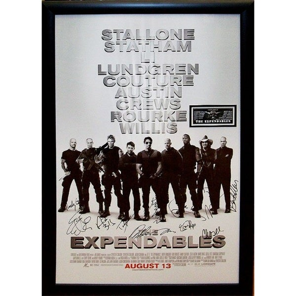 Expendables -  Signed Movie Poster 30525891