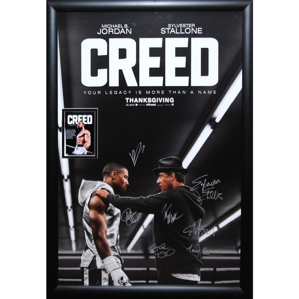 Creed -  Signed Movie Poster 30525922