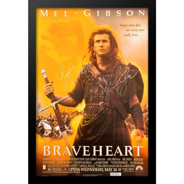 Braveheart - Signed Movie Poster 30525946