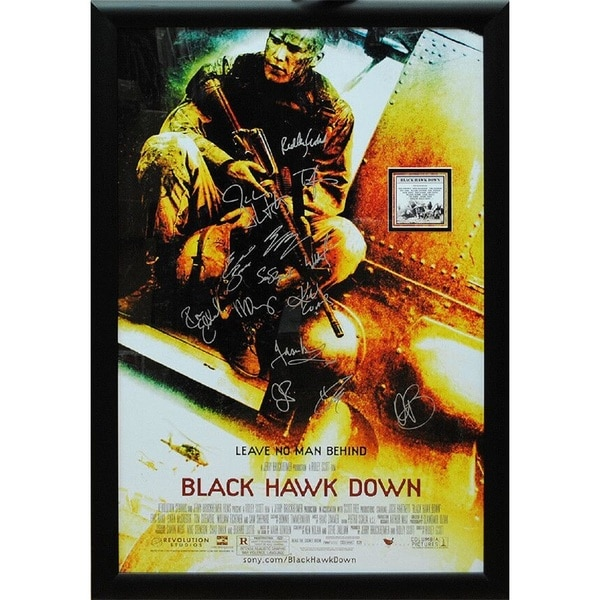 Black Hawk Down -  Signed Movie Poster 30525964