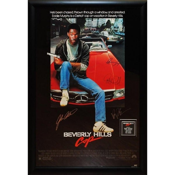 Beverly Hills Cop -  Signed Movie Poster 30525966