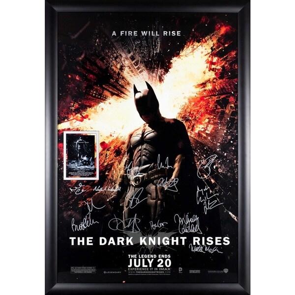Batman The Dark Knight Rises- Signed Movie Poster 30525971