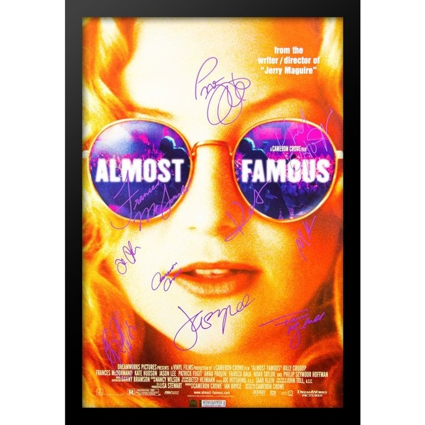 Almost Famous - Signed Movie Poster 30526034
