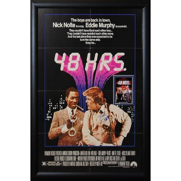 48 Hrs - Signed Movie Poster 30526072