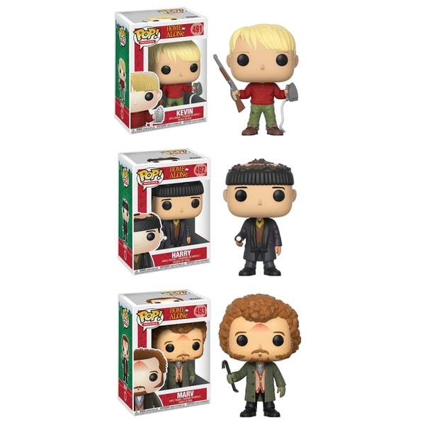 Funko POP! Movies Home Alone Collectors Set; Kevin, Harry, Marv 30637808