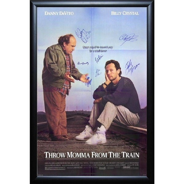 Throw Momma from the Train - Signed Movie Poster 30643531