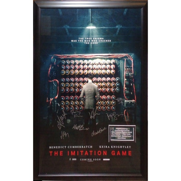 The Imitation Game - Signed Movie Poster 30643588
