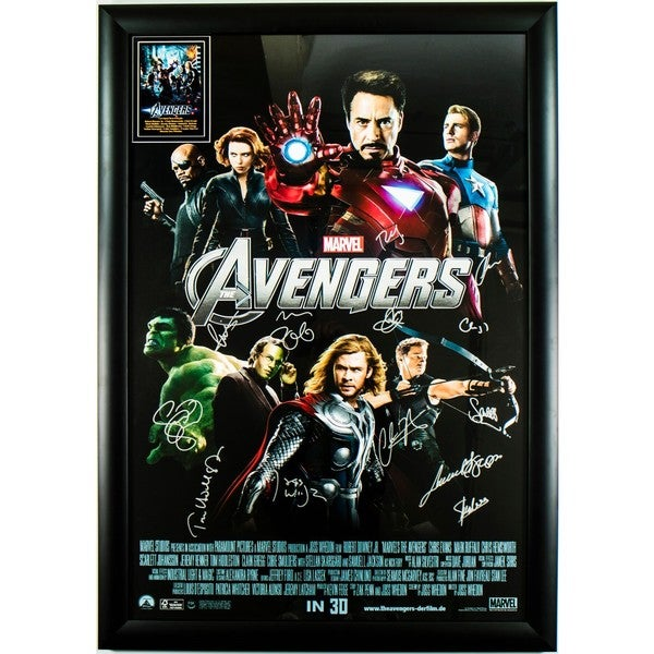 The Avengers - Signed Movie Poster 30643612