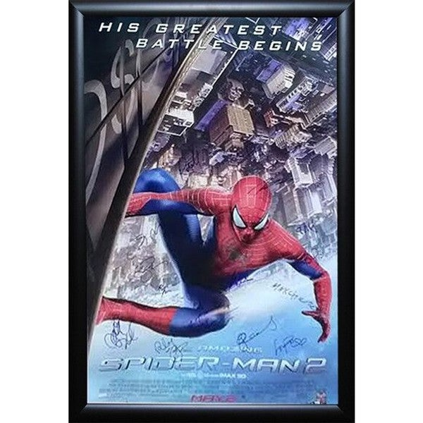 The Amazing Spider-Man 2 - Signed Movie Poster 30643616