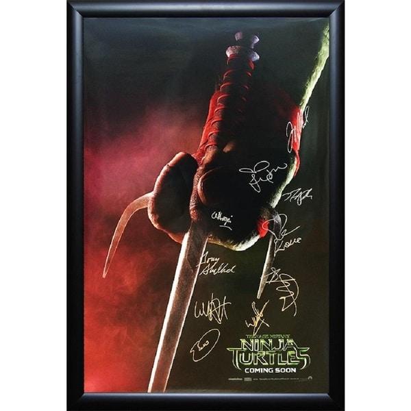 Teenage Mutant Ninja Turtles - Signed Movie Poster 30643619