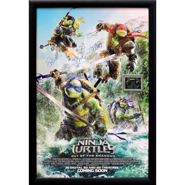 Teenage Mutant Ninja Turtles  - Signed Movie Poster 30643620