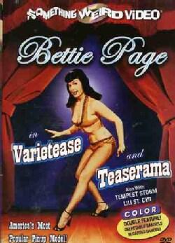 Bettie Page: Varietease/Teaserama (DVD)