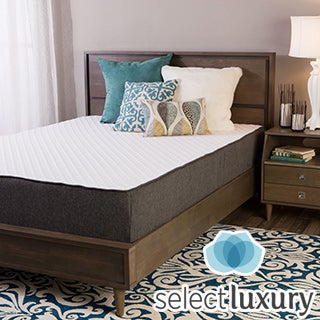 Select Luxury E.C.O. 12-inch King Size Latex and Memory Foam Mattress