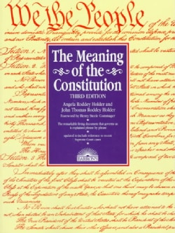 The Meaning of the Constitution (Paperback)