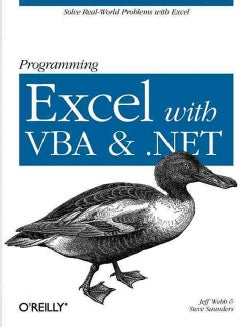 Programming Excel With Vba And .net (Paperback)