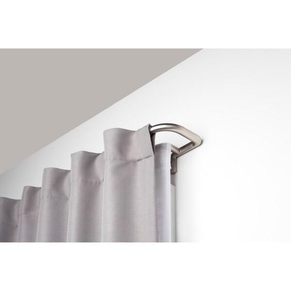 Umbra Twilight Room-Darkening Double Curtain Rod (As Is Item) 32373781