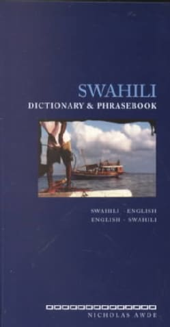 Swahili Dictionary and Phrasebook: Swahili-English English-Swahili (Paperback)