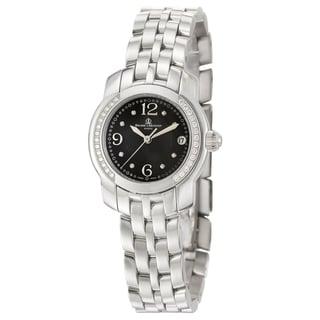 Baume & Mercier Black Dial Capeland Diamond Watch