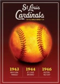 St. Louis Cardinals Vintage World Series Films: 1943, 1944, 1946 (DVD)