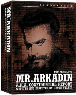 The Complete Mr. Arkadin (DVD)