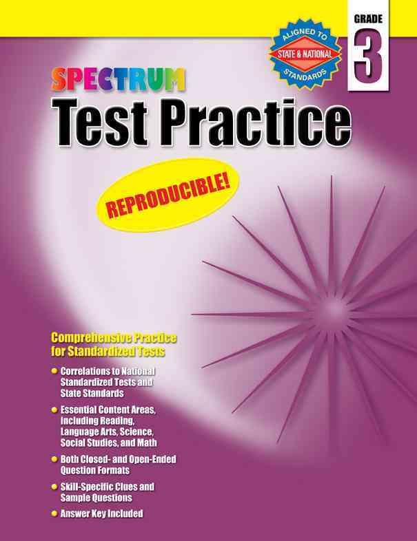 Test Practice: Grade 3 (Paperback)