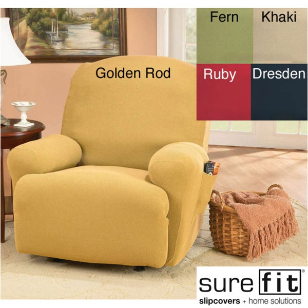 Sure Fit Regency Medium Recliner Slipcover