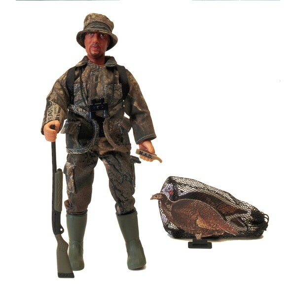 "Hunter Dan Turkey Hunter 8"" Posable Action Figure 31035209"
