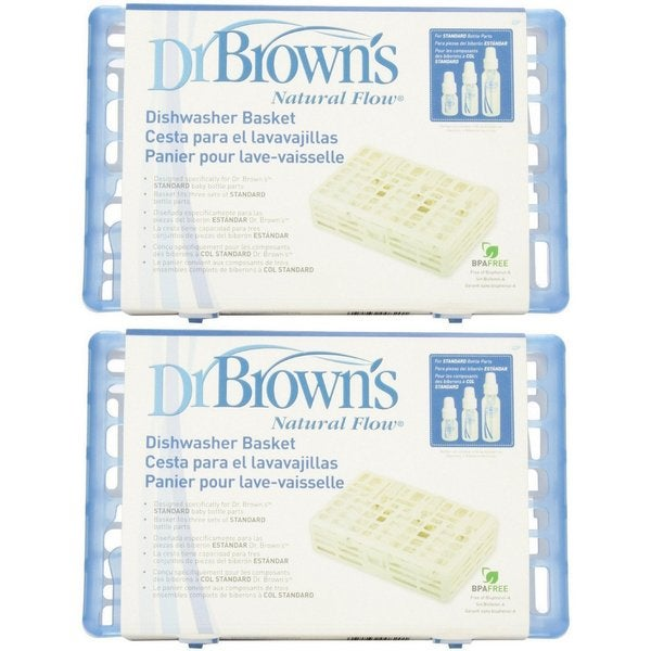 Dr. Brown's Standard Dishwashing Basket - Polypropylene - 2 Count 31036030