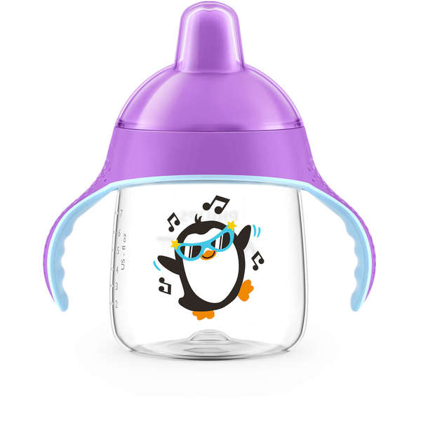 Philips Avent My Penguin Sippy Cup - 9 Ounce - 1 Pack - Purple 31038054