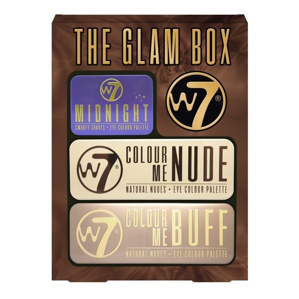 W7 The Glam Box 3 Piece Eyeshadow Palette Set 31056613
