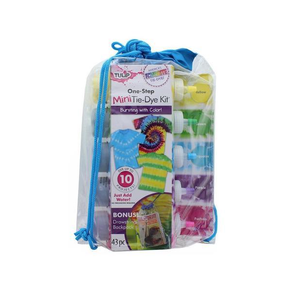 Tulip One Step Tie Dye Kit 5 Color Mini Backpack 31057398