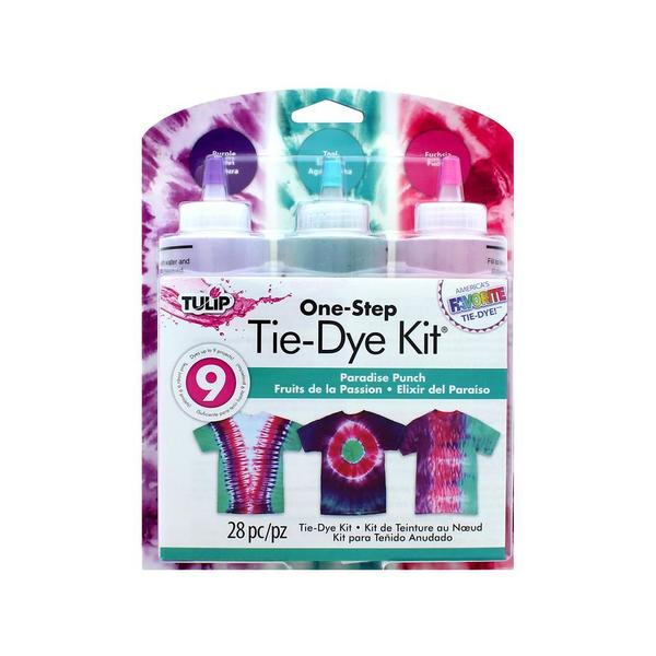 Tulip One Step Tie Dye Kit 3 Color Paradise Punch 31057399