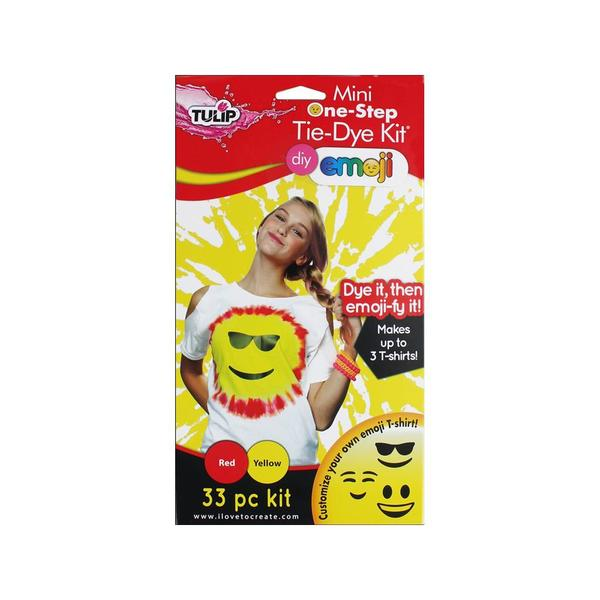 Tulip One Step Tie Dye Kit 2 Color Mini Emoji 31057400