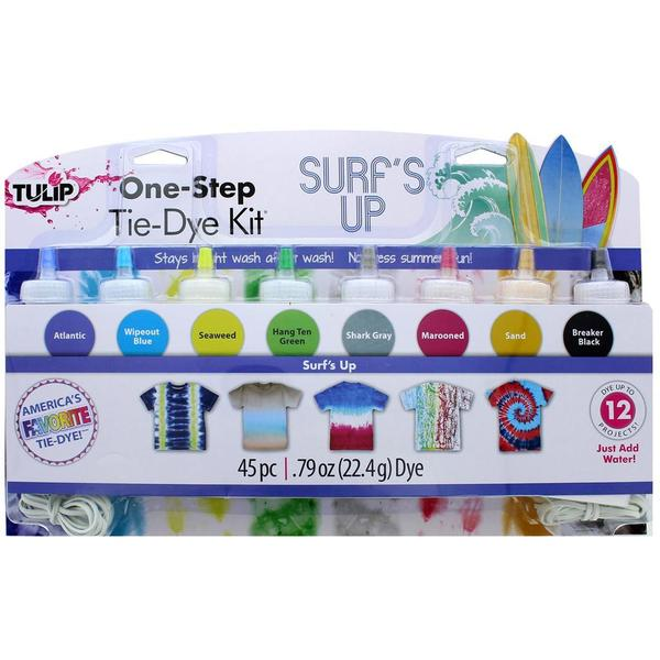Tulip One Step Tie Dye Kit 8 Color Mini Surf's Up 31057402